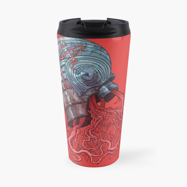 One day a root wanted a helmet, It was called Heart hat Travel Mug