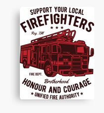 Fire Fighter 2 Canvas Print