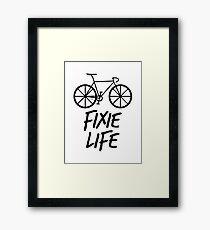 Fixie Life Framed Print
