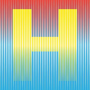 Kinetic H by GraphicBureau