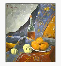 Serusier - Still Life with Bottle and Fruit Photographic Print