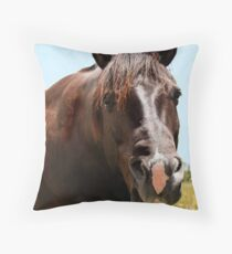 Howdy Partner! Throw Pillow