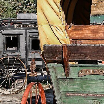 Westward Wagons by patmonty