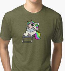 Soak up the Sun, Unicorn! Tri-blend T-Shirt