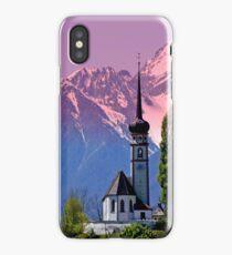 Typical Tyrolean Church Austria iPhone Case