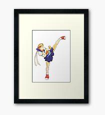 Sakura Street Fighter Framed Print