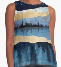 Midnight Lake Contrast Tank