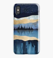 Midnight Lake iPhone Case