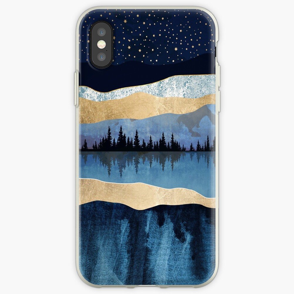 Midnight Lake iPhone Cases & Covers