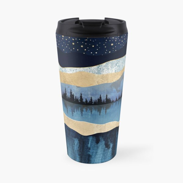Midnight Lake Travel Mug