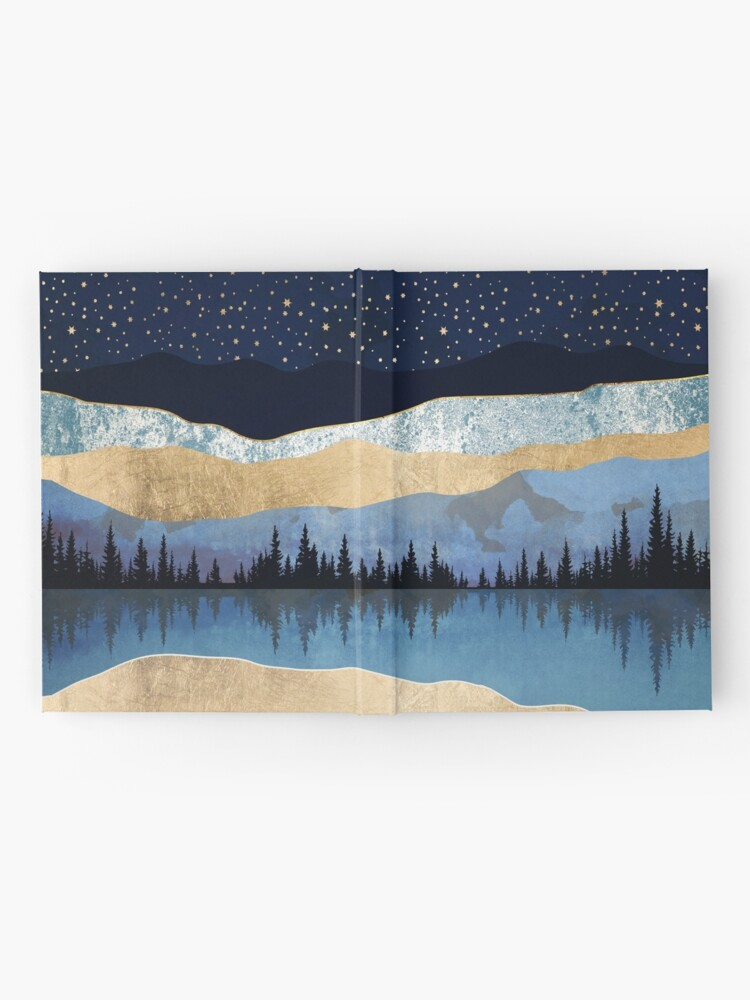 Alternate view of Midnight Lake Hardcover Journal
