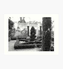Dallas Arboretum Topiary Art Print