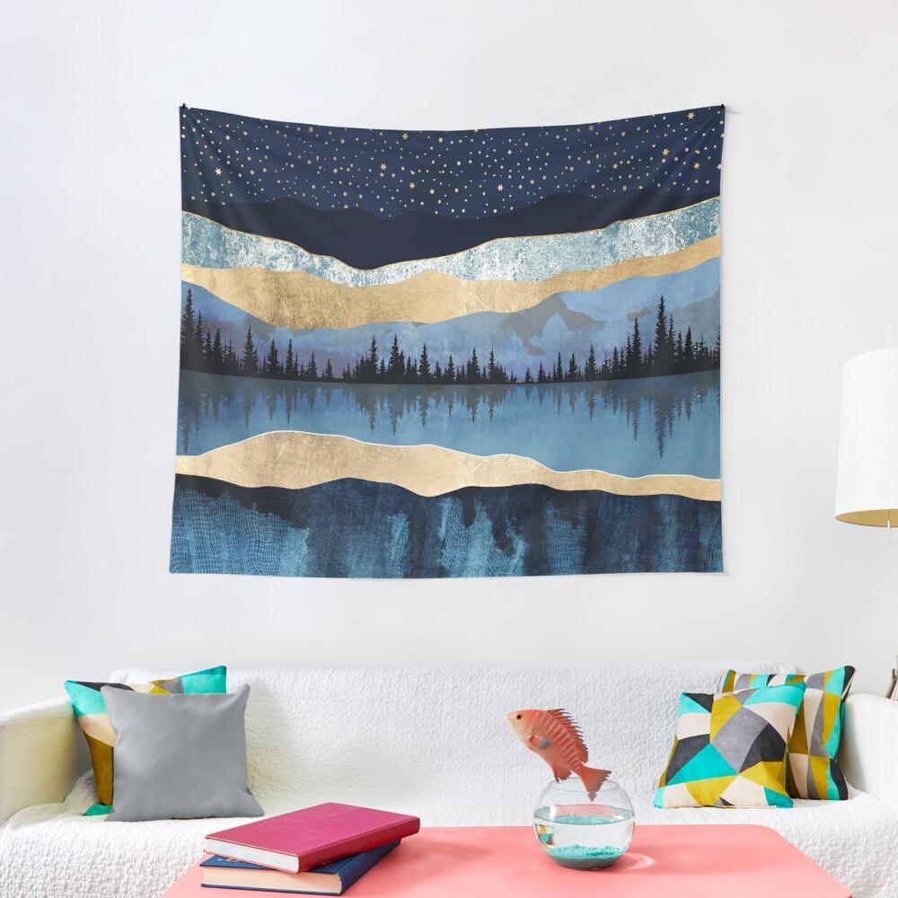Midnight Lake Tapestry