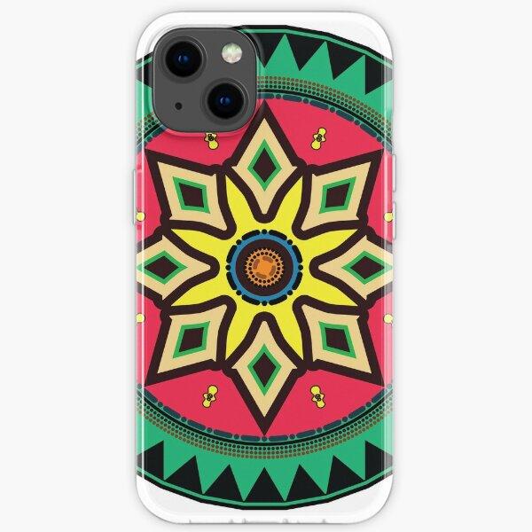 African Ethnic Motif iPhone Soft Case