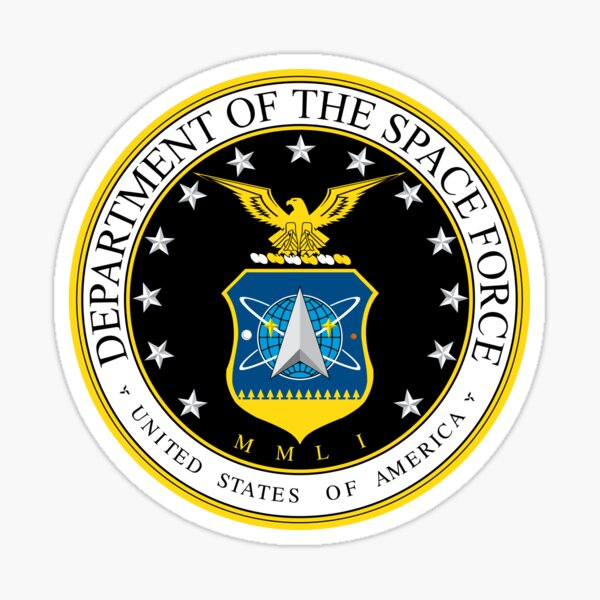 Department of The Space Force - United States of America Sticker