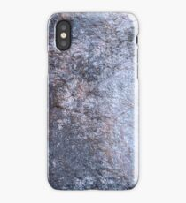 Cool Blue Rock iPhone Case