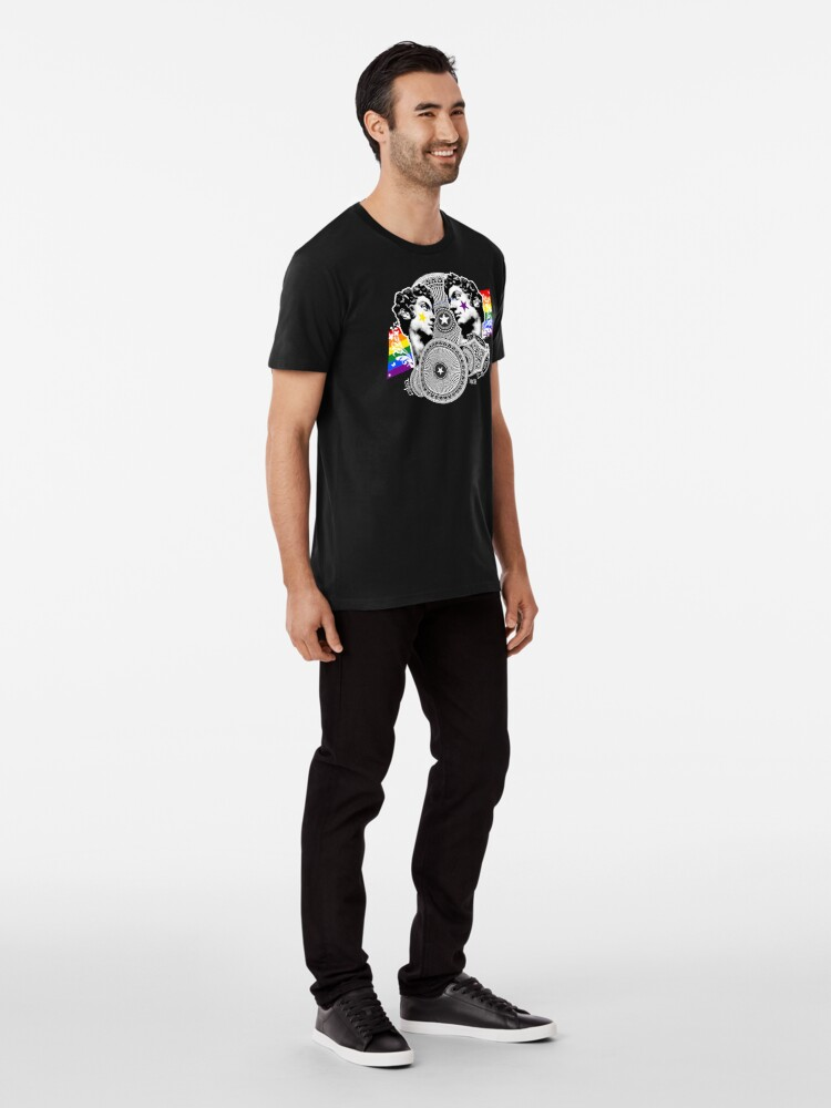 Alternate view of Proud to be gay Premium T-Shirt