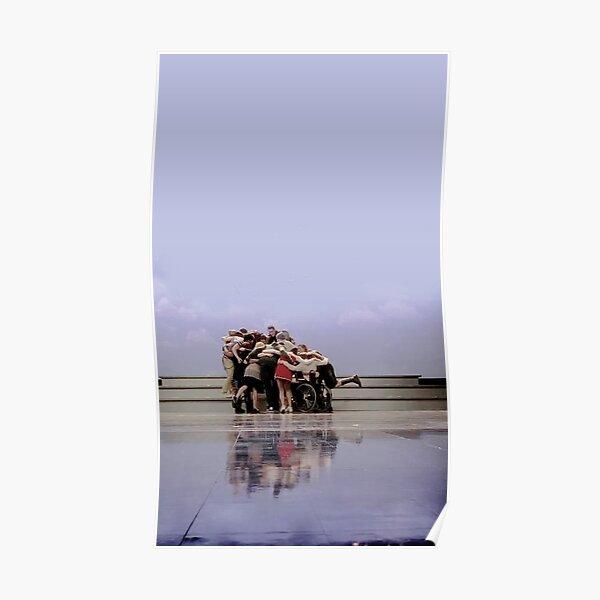 Glee cast group hug  Poster