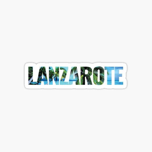 Lanzarote Pegatina