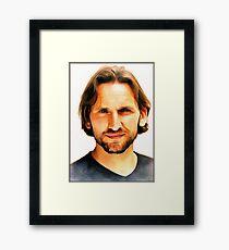 Christopher Eccleston Framed Print