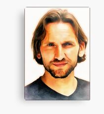 Christopher Eccleston Metal Print