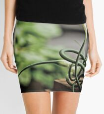 Garlic Scapes Mini Skirt