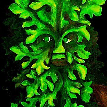 Green Man by Magicat