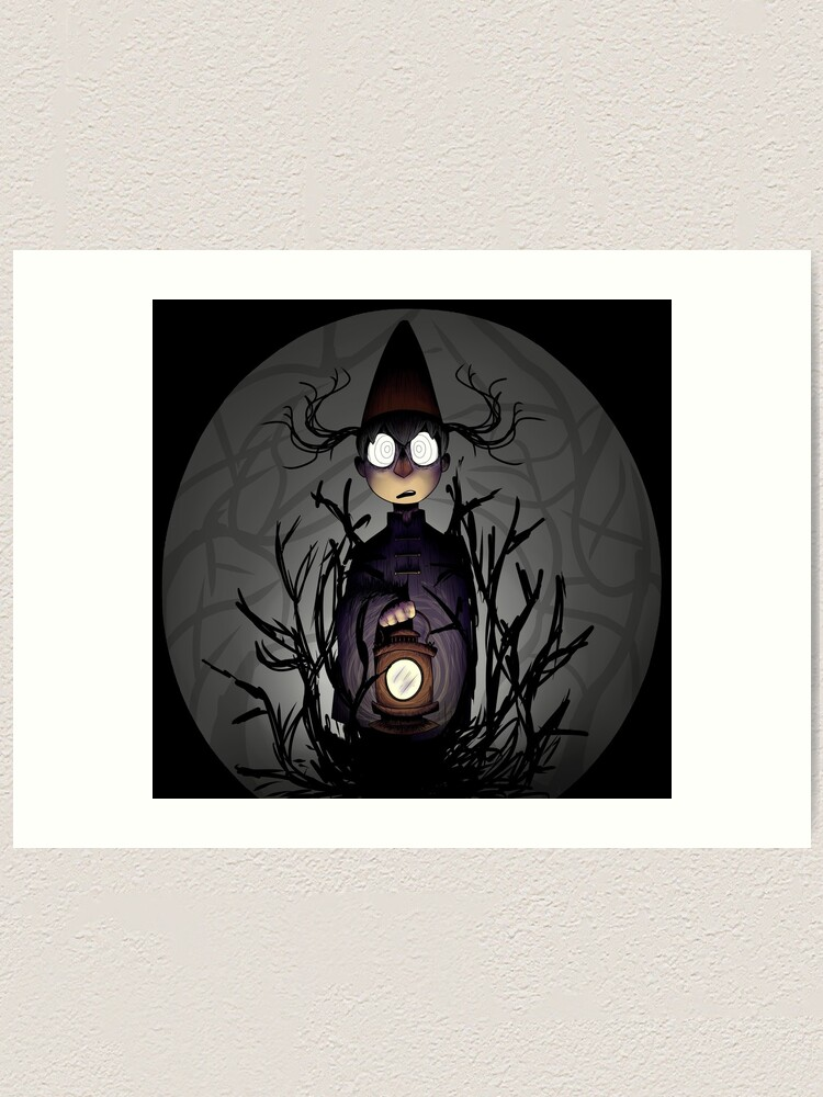 Over The Garden Wall Beast Wirt Art Print By Shadehlyne Redbubble