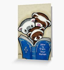 How To Book Greeting Card