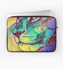 Watercolor Lion Laptop Sleeve