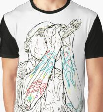 Chester - Pen Sketch Graphic T-Shirt