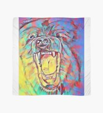 Watercolor Bear Scarf