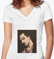 Kahlil Gibran Women's Fitted V-Neck T-Shirt