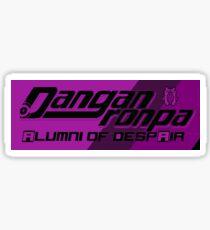 Alumni of Despair Logo sticker Sticker