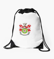 Coat of Arms of County Donegal, Ireland Drawstring Bag