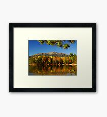 Autumn Baxter Mt. Katahdin Framed Print