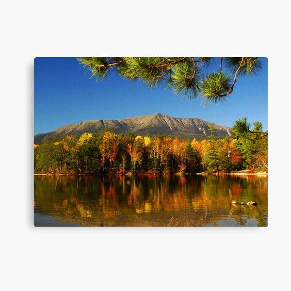 Autumn Baxter Mt. Katahdin Canvas Print