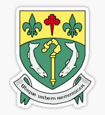 Coat of Arms of Letterkenny, Ireland Sticker