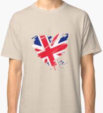 Great Britain England Football London Manchester Heart Classic T-Shirt