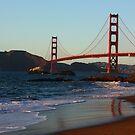 Golden Gate Bridge. by Igor Pozdnyakov