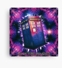 All of Time and Space Canvas Print