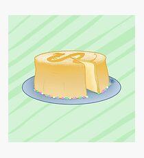 Spirited Away Cheesecake Photographic Print
