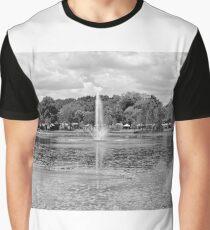 Fountain Lake  Graphic T-Shirt