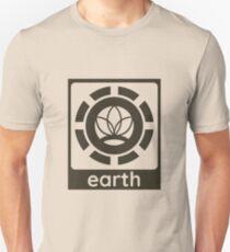 Earth Element Design Nature Gift Idea Unisex T-Shirt