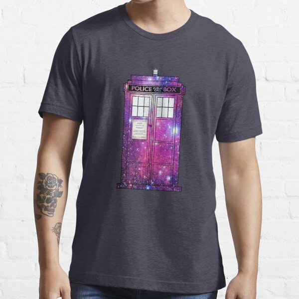 Starry Police Public Call Box. Essential T-Shirt