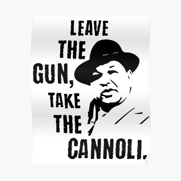 Laisser l'arme prendre le Cannoli Poster