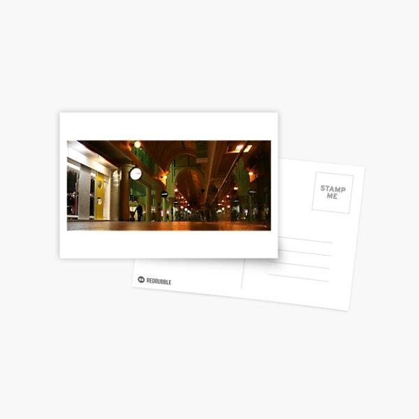 A Mall Closing Time..... Postcard