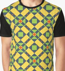 abstract wallpapers design forms geometric color seamless colorful repeat pattern Graphic T-Shirt