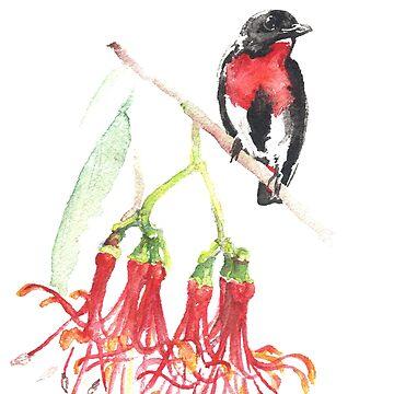 Mistletoebird by desines