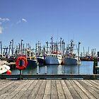 Pier Harbor Wide View... by Poete100